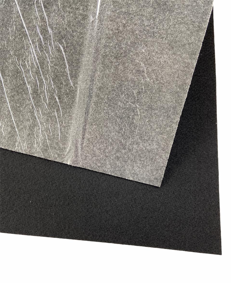 Nadelvlies Teppich schwarz (selbstklebend)