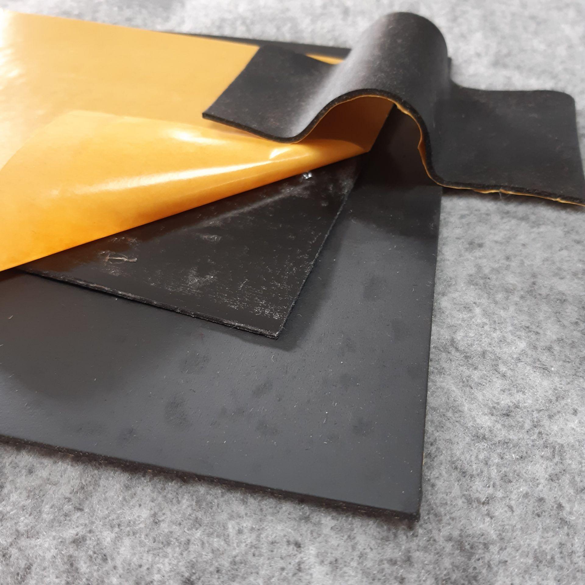 ca.100 x 50 cm  Schwerschicht ca. 3,5Kg/m²  / Stärke ca.1,8 mm