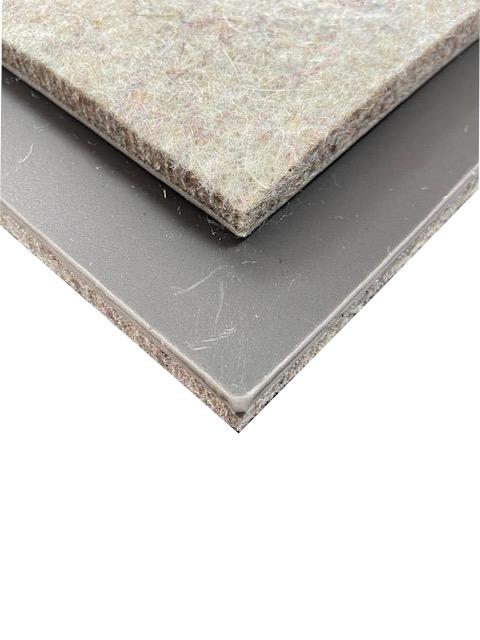 """(5)""""Neu""""Bodengruppen Matte verformbar  Propylat mit Schwerschicht(4.0Kg m²) ca. 100 x 60 cm Stärke: ca 8 mm"""