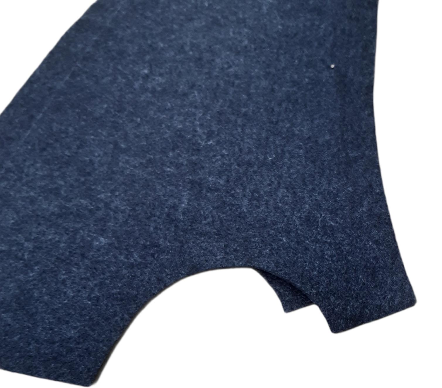 Seitenverkleidung Innen für 2CV aus unserem Konturvlies anthrazit