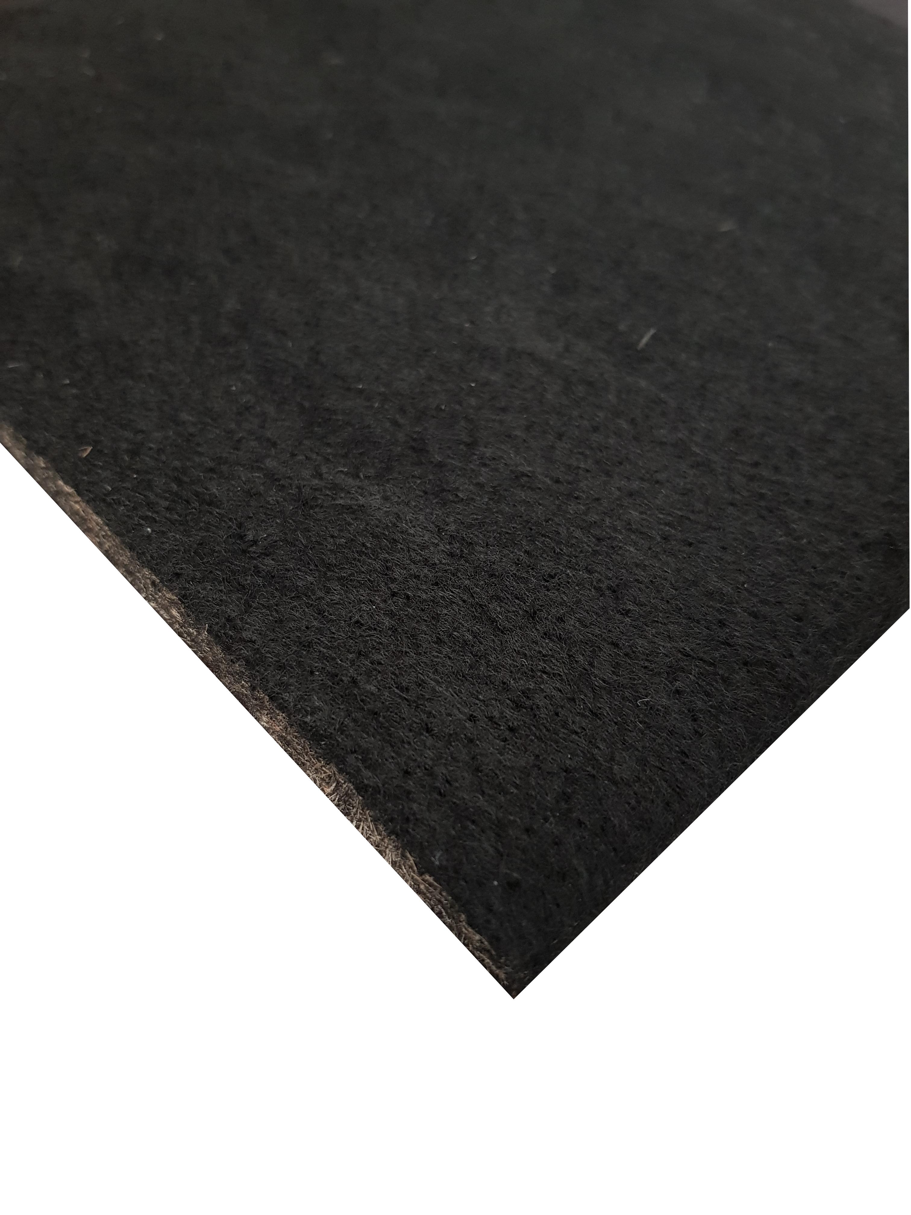 Unterbau Kenaf - Vlies braun schwarz, ca. 10mm stark