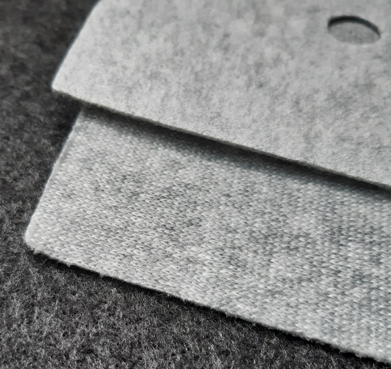 Seitenverkleidung Innen für 2CV aus grauem Malivlies