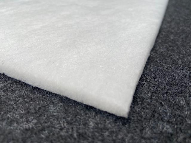 (P2)  Polstervlies 150g/m²Größe: ca.5 m x 0,70 m /ca.Stärke ca. 8 mm
