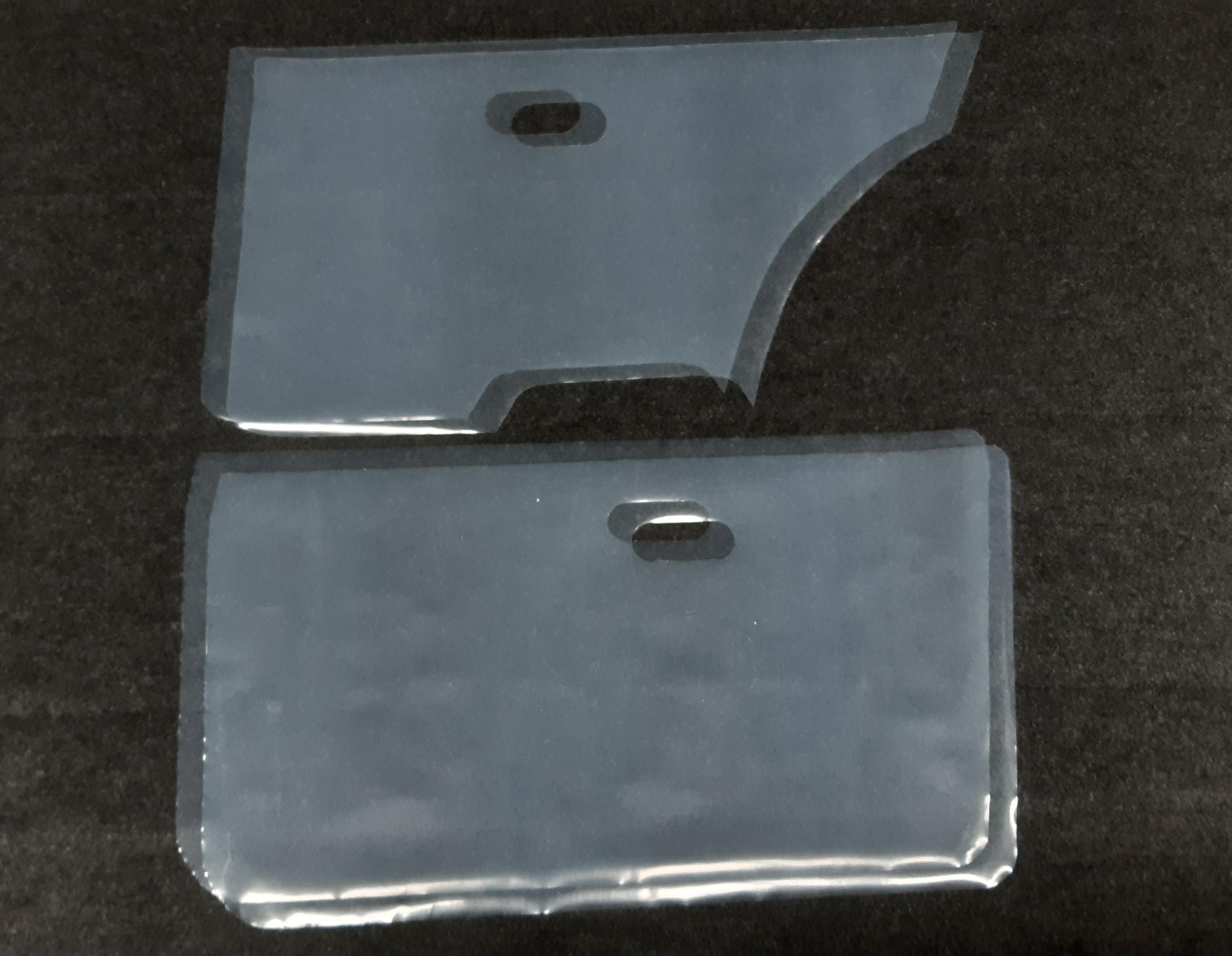 4x Türfolie Golf 1 (5 Türer) gestanzt (Caddy 2 Türer)